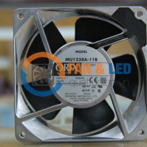 Quạt ORIX MU1238A-11B, 100VAC, 119x119x38mm