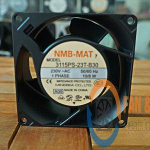 Quạt NMB 3115PS-23T-B30, 230VAC, 80x80x38mm