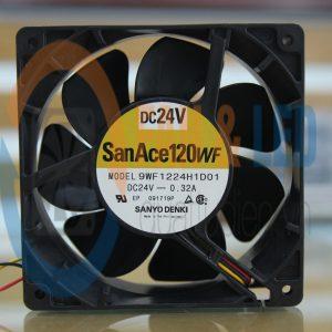 Quạt DC Sanyo Denki 9WF1224H1D01, 24VDC, 120x120x38 mm