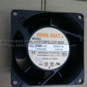 Quạt NMB 3115PS-23T-B30, 80x80x38mm, 230VAC
