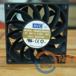 Quạt AVC DB09225B48U, 48VDC, 92x92x25mm