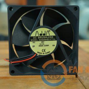 Quạt ADDA AD0848HB A71GL, 48VDC, 80x80x25mm