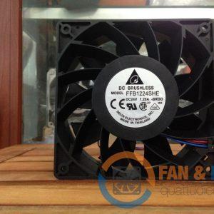 Quạt DELTA FFB1224SHE, 24VDC, 120x120x38mm