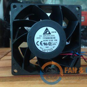 Quạt DELTA FFB0824EHE, 24VDC, 80x80x38mm