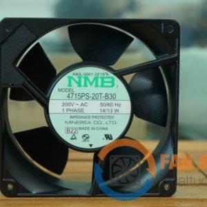Quạt NMB 4715PS 20T B30, 200VAC, 120x120x38mm