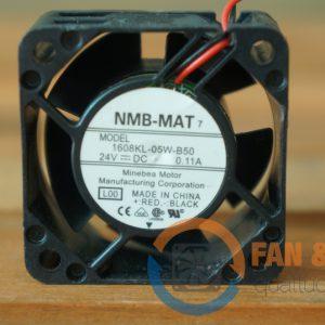 Quạt NMB MAT 1608-05W-B50, 24VDC, 40x40x20mm