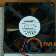 Quạt NMB MAT 3110KL-04W-B60, 12VDC, 80x80x25mm
