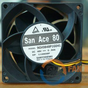 Quạt SANYO DENKI 9GV0848P1G041, 48VDC, 80x80x38mm