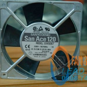 Quạt Sanyo Denki 109S087, 120x120x25mm, 230VAC