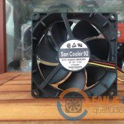 Quạt SANYO DENKI 9A0912M4D09, 12VDC, 90x90x25mm