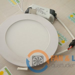 Đèn LED âm trần 9W tròn, 3 chế độ