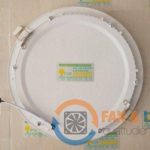Đèn LED âm trần 18W tròn, 3 chế độ