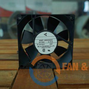 Quạt MELCO MMF-08D24ES, 24VDC,80x80x25mm