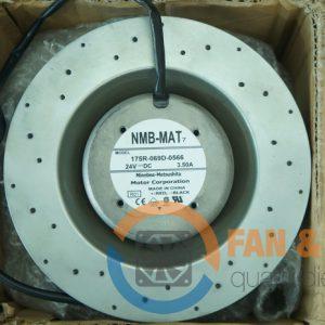 Quạt NMB 175R-069D-0566, 24VDC, 150x150x100mm