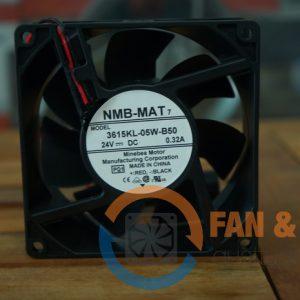 Quạt NMB 3615KL-05W-B50, 24vdc, 92x92x38mm