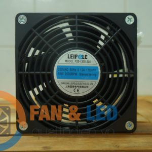 Quạt LEIPOLE F2E-120S-230, 230VAC, 120x120x38 mm