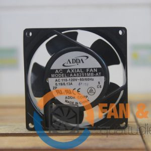 Quạt ADDA AA8251MB-AT, 110VAC, 80x80x25mm