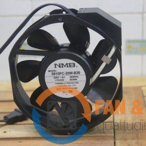 Quạt AC NMB 5915PC-20W-B20, 220VAC, 172x172x38mm