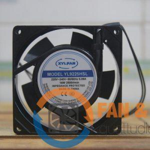 Quạt XYLFAN YL9225HSL, 220/240VAC, 80x80x25mm