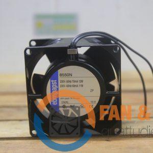 Quạt AC EBM PAPST 8550N, 230VAC, 80x80x38mm