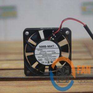 Quạt NMB 2406KL-05W-B30, 24VDC, 60x60x15mm
