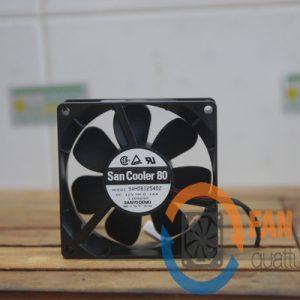 Quạt SANYO DENKI 9AH0812S402, 12VDC, 80x80x25mm