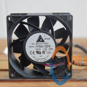 Quạt DELTA PFB0912DHE, 12VDC, 92x92x38mm