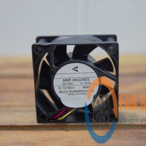 Quạt MELCO MMF-06G24ES, 24VDC, 60x60x25mm