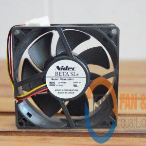 Quạt NIDEC D09A-24PU, 24VDC, 90x90x25mm