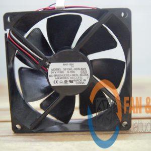 Quạt NMB 3610KL-05W-B49, 24VDC, 92x92x25mm