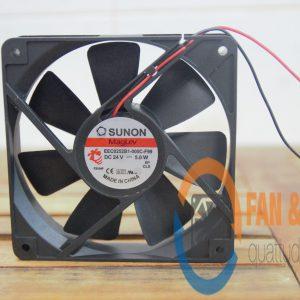 Quạt SUNON EEC0252B1-000C-F99, 24VDC, 120x120x25mm