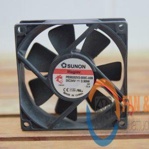 Quạt SUNON PE80252V2-000C-A99, 24VDC, 80x80x25mm
