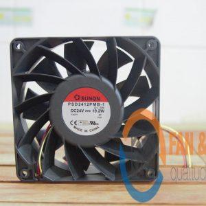 Quạt SUNON PSD2412PMB-1 (2).GN, 24VDC, 120x120x38mm