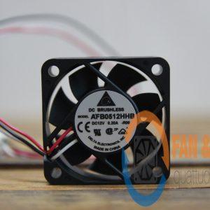 Quạt DELTA AFB0512HHB, 12VDC, 50x50x15mm