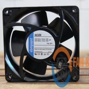 Quạt EBMPAPST 4650N, 230VAC, 119x119x38mm