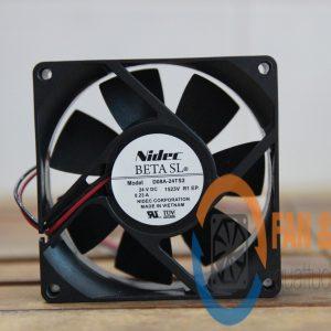 Quạt NIDEC D08A-24TS2, 24VDC, 80x80x25mm