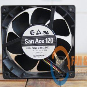 Quạt SANYO DENKI 9G1248G101, 48VDC, 120x120x38mm