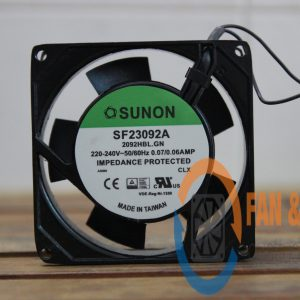 Quạt SUNON SF23092A 2092HBL.GN, 220/240VAC, 92x92x25mm