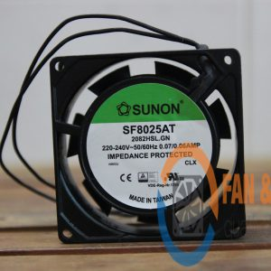 Quạt SUNON SF8025AT 2082HSL.GN, 220/240VAC, 80x80x25mm