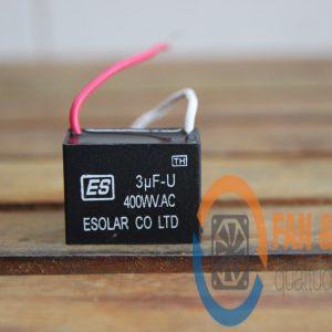 Tụ điện ESOLAR 3μF-U, 400VAC