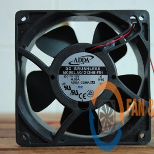 Quạt ADDA AQ1212HB-F51, 12VDC, 120x120x38mm