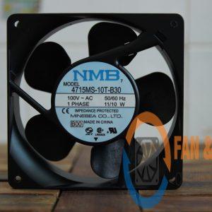 Quạt NMB 4715MS-10T-B30, 100VAC, 119x119x38mm