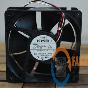 Quạt NMB 11938KA-24L-EL, 24VDC, 119x119x38mm