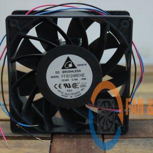 Quạt DELTA FFB1248EHE, 48VDC, 120x120x38mm 3 dây