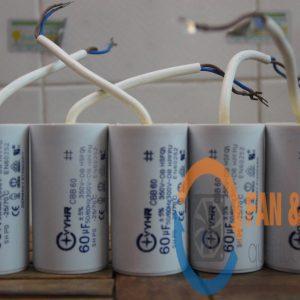 Tụ điện VYHR CBB60 60μF ±5%, 350VAC
