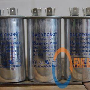 Tụ điện DAE YEONG 15μF ±5%, 370VAC