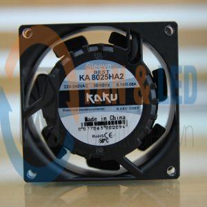 Quạt KAKU KA8025HA2, 220~240VAC, 80x80x25mm