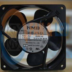 Quạt NMB 11938MB-A1N-EA(4715MS-12T-B50), 115VAC, 119x38mm