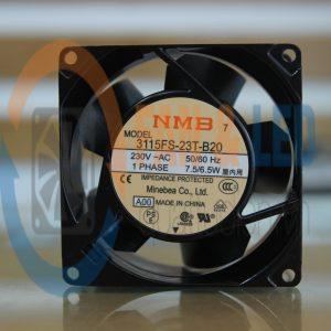 Quạt NMB 3115FS-23T-B20, 230VAC, 80x80x38mm