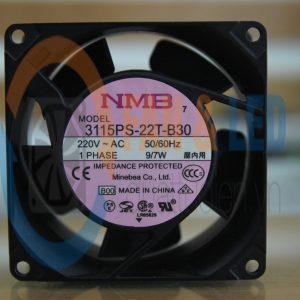 Quạt NMB 3115PS-22T-B30, 220VAC, 80x80x38mm